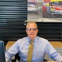 Charlie Vail at Porsche Warrington