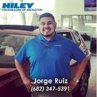 Jorge Ruiz at Hiley Volkswagen of Arlington