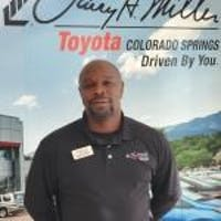 Derick McCoy at Larry H. Miller Toyota Colorado Springs