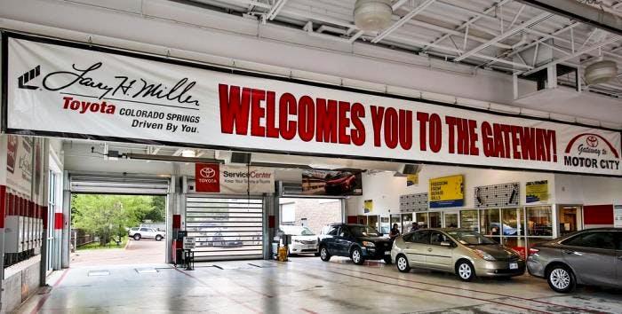 Larry H Miller Toyota Colorado Springs >> Larry H Miller Toyota Colorado Springs Toyota Used Car