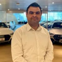 Zain Mirza at Audi Morton Grove