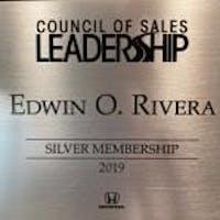 Edwin Rivera at Sloane Honda