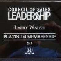 Larry Walsh at Sloane Honda