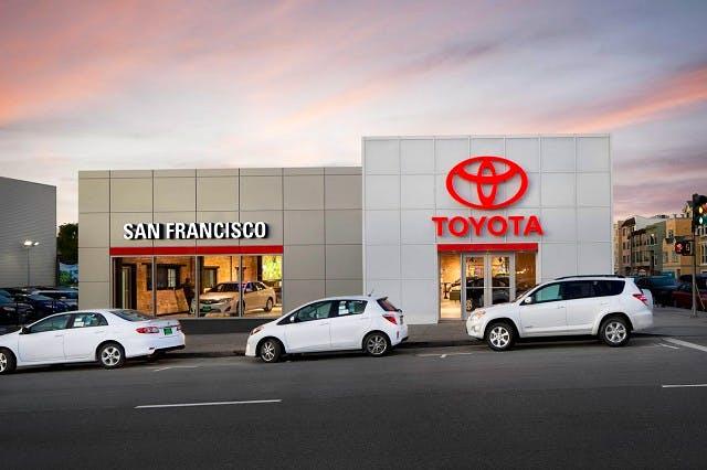 Toyota San Francisco >> San Francisco Toyota Scion Toyota Service Center