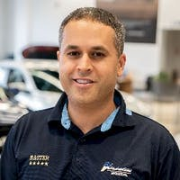 Joey Naim at Atlantic Honda