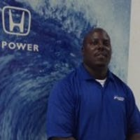 Dave  Moore at Atlantic Honda