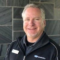 Gary  Hendrickson at Heuberger Subaru