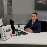 Jason He at Bayside Chrysler Jeep Dodge