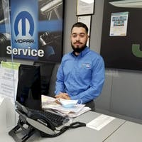 Brandon Diaz at Bayside Chrysler Jeep Dodge - Service Center
