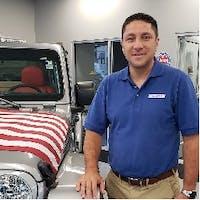Marco Salazar at Garavel Chrysler Jeep Dodge Ram
