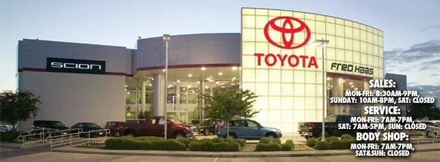 Fred Haas Toyota World, Spring, TX, 77373