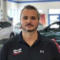 Ted Rau at Bianchi Honda