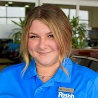 Hayley Helms at Roush Honda