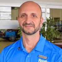 Angel Milanov at Roush Honda