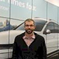 Justin Simcox at World Volkswagen