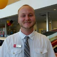 Alex Samlaska at Woodmen Nissan