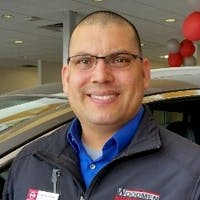 Jose Guzman at Woodmen Nissan