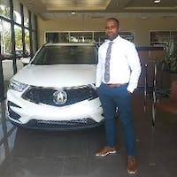 Stanley Delva at Napleton's Palm Beach Acura
