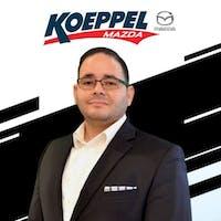 Nelson Peraza at Koeppel Mazda