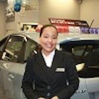 Rosalba Garrido-Santana at Fordham Toyota