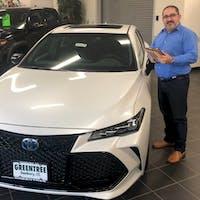 Carlos Rocha at Greentree Toyota