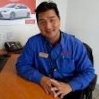 James Tran at Toyota Sunnyvale