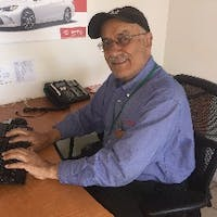 Fred Moini at Toyota Sunnyvale