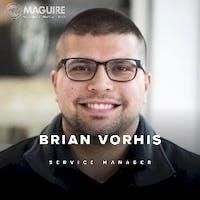 Brian Vorhis at Maguire Chevrolet Cadillac - Service Center