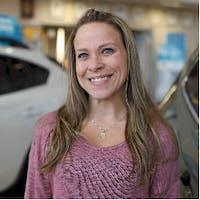 Laura Lawrence at Patrick Subaru Sales, Shrewsbury