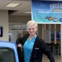 Hailey Leichentritt at Bill Estes Ford