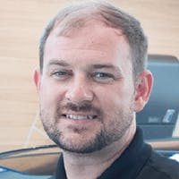 Grant Donleycott at Leith BMW