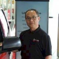 YK Lee at Charles Maund Toyota