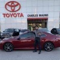 Aidan Casillas at Charles Maund Toyota