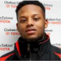 Jesse Johnson at Chatham Parkway Toyota