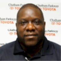 Quentin  rawls at Chatham Parkway Toyota