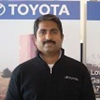 Joji  Eapen at Olathe Toyota