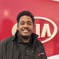 Rashad Jones at Kia AutoSport Columbus