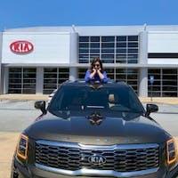 Melanie Lee at Kia AutoSport Columbus