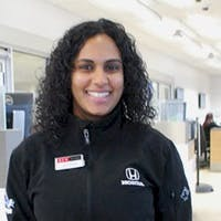 Natasha Nedd at DCH Paramus Honda - Service Center