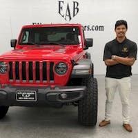 Jared Vega at Elite Auto Brokers