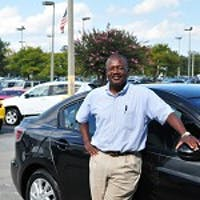 Melvin Roberts at Whitten Brothers Mazda