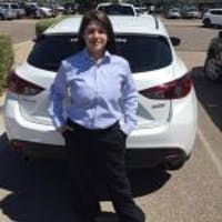 Leah Farretta at CardinaleWay Mazda - Mesa
