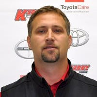Elvis Knezic at Kerry Toyota