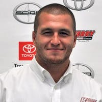 Micah Arrowood at Kerry Toyota