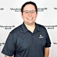 Blake Bowland at Vandergriff Acura