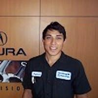 Rymond Rodriguez at Vandergriff Acura