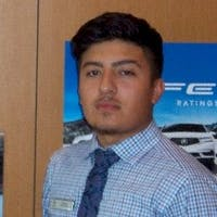 Edward Rodriguez at Vandergriff Acura