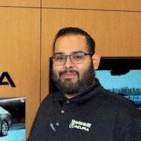 Omar Navarro at Vandergriff Acura
