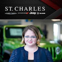 Jessica Haptonstall at St. Charles Chrysler Dodge Jeep Ram