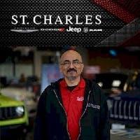 Eddie Iniguez at St. Charles Chrysler Dodge Jeep Ram